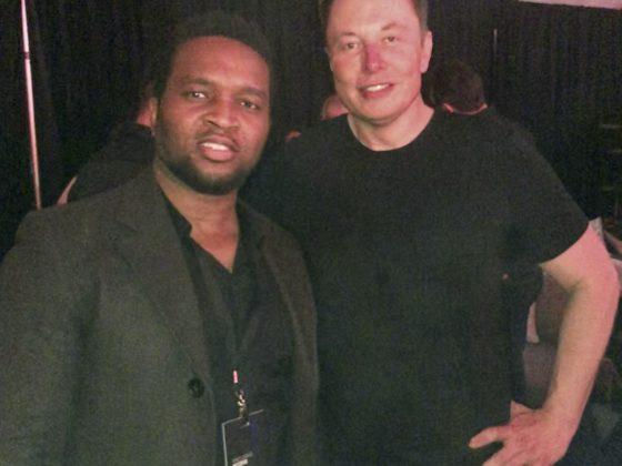 Riz and Elon Musk - Cybertruck Unveiling.