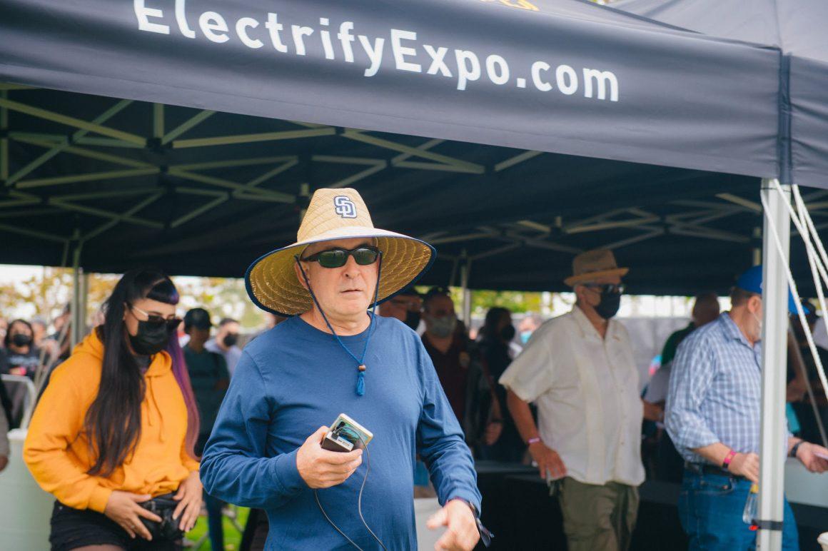 Electrify Expo entrane