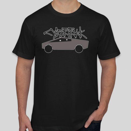 CYBRTRK Shirt Black