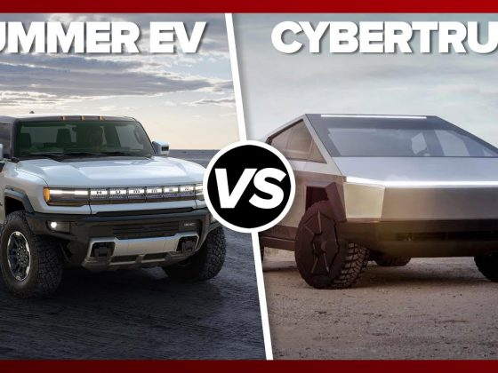 Hummer EV vs Tesla Cybertruck